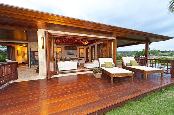 Bali style luxury home for sale featuring indoor outdoor for Balinese style home designs