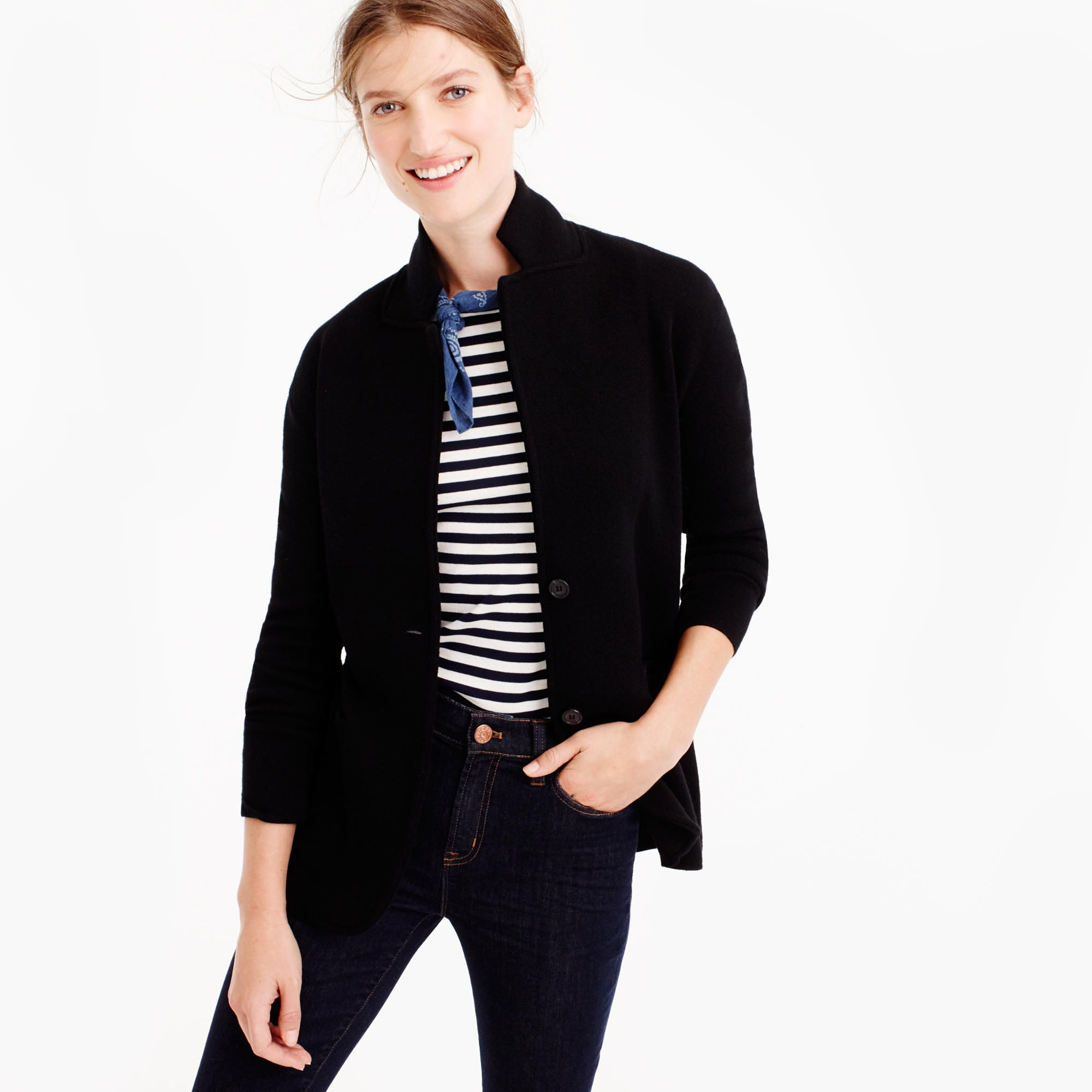 Shop the Merino Wool Sweater-Blazer at JCrew.com and see our ...