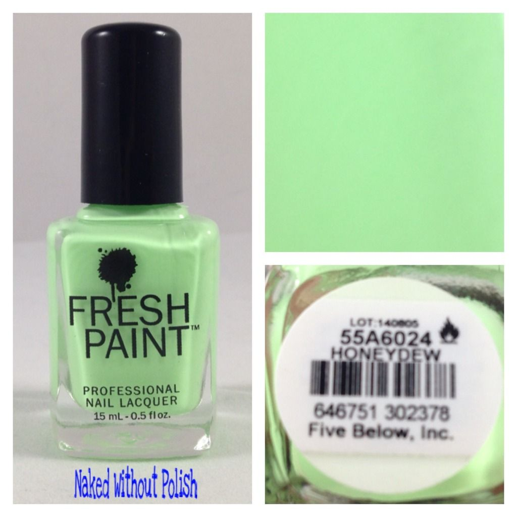 Fresh Paint Honeydew, Guava, and Passion Fruit Swatch and Review ...