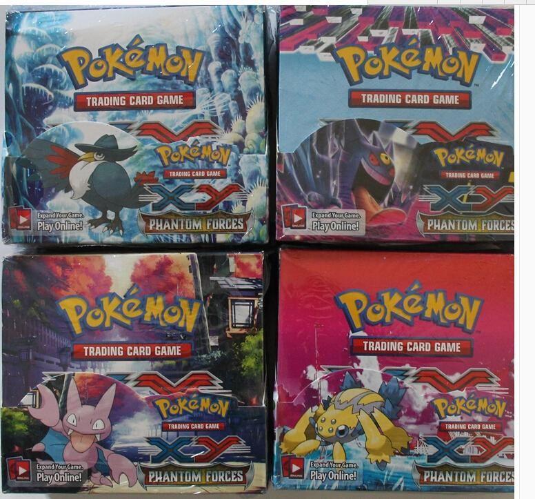 Wholesale Hot Selling Pokemon XY Phantom Forces Cards /Box