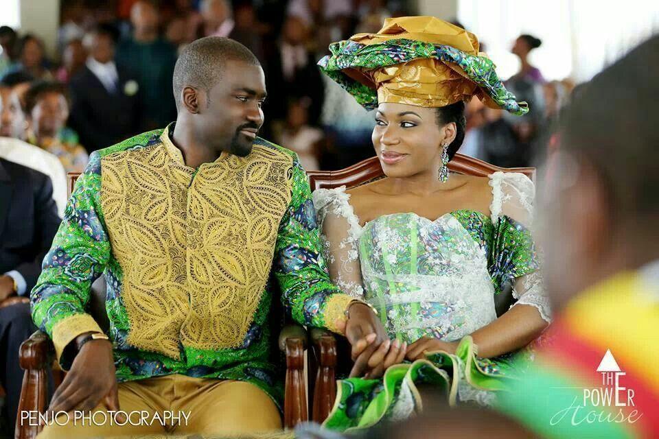 Cameroonian wedding ladies gown cameroon bride