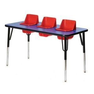 Repas Avec Des Multiples On Prepare Combien De Kilos De Puree La Vie Des Triples Table Bebe Table Et Chaise Enfant Chaise Haute Bebe