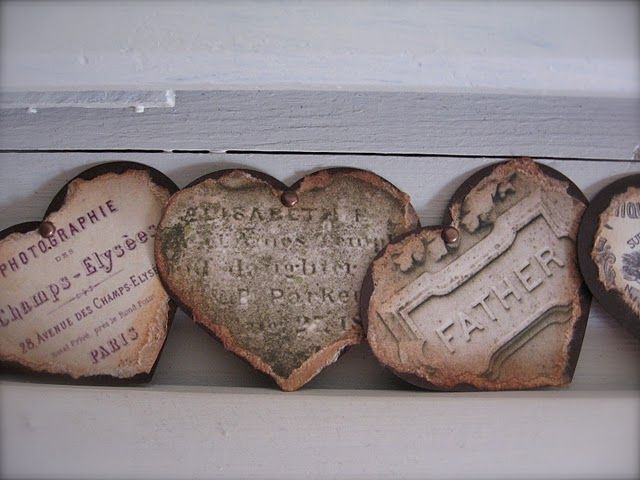 Diy French Grave Markers Or Mourning Plaques Cemetary
