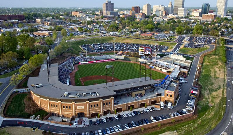 The Charlotte Knights Are A Minor League Baseball Team