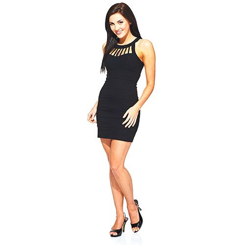 Trixxi black dress