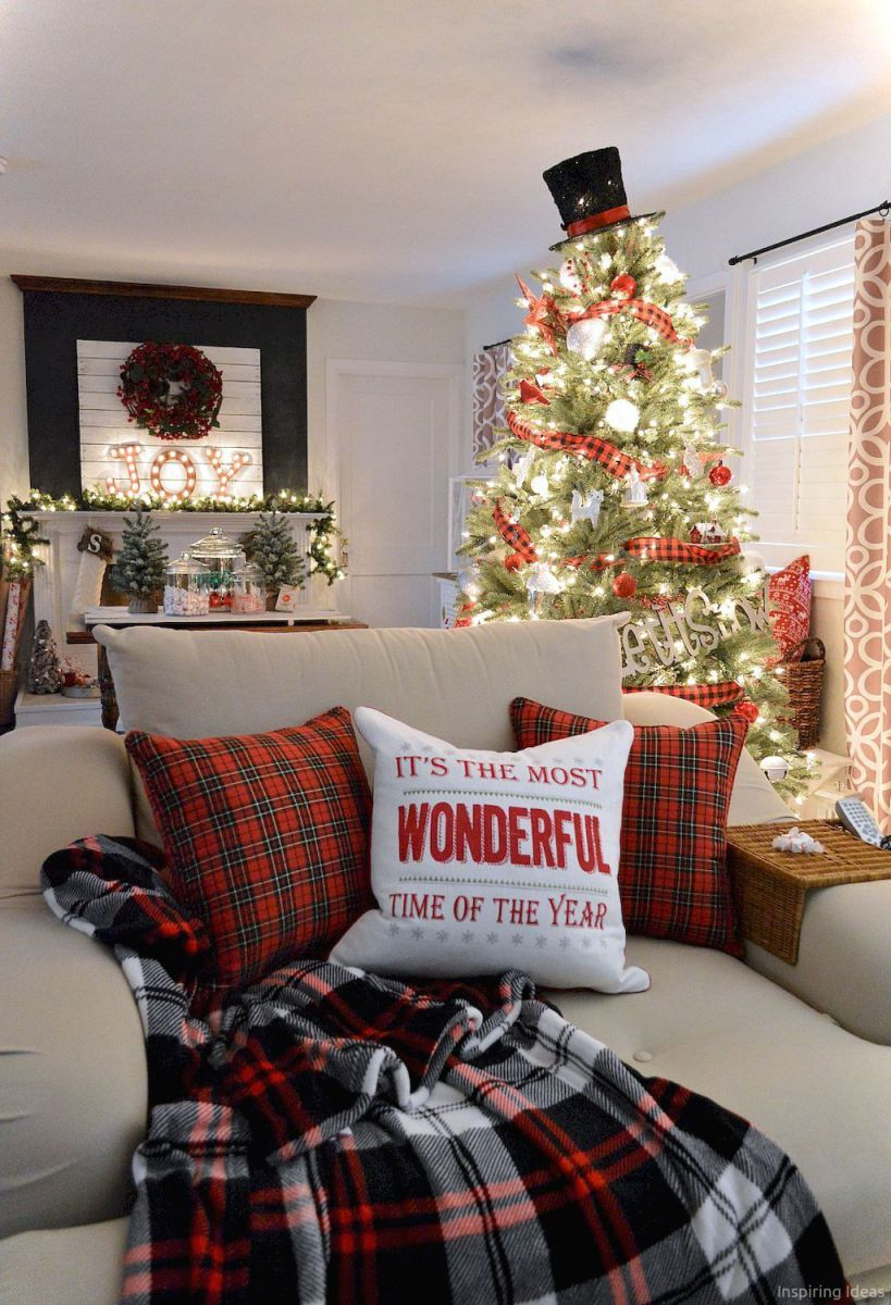 18 apartment christmas decorations ideas - Apartment Christmas Decorations