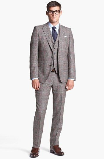 BOSS HUGO BOSS Suit & 1901 Dress Shirt   Nordstrom