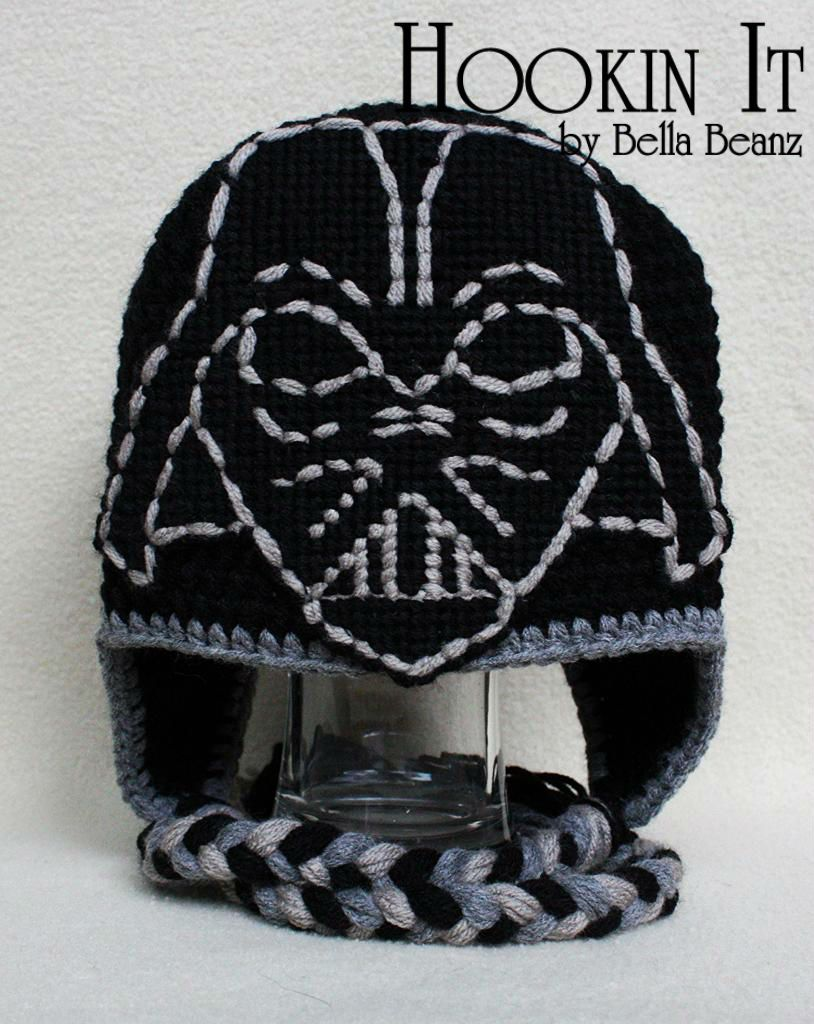 Darth vader inspired crocheted hat definitely need to try this