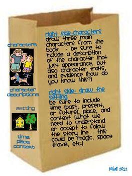 Fun Book Reports - Paper Bag Book Report | CC | Pinterest | Paper ...