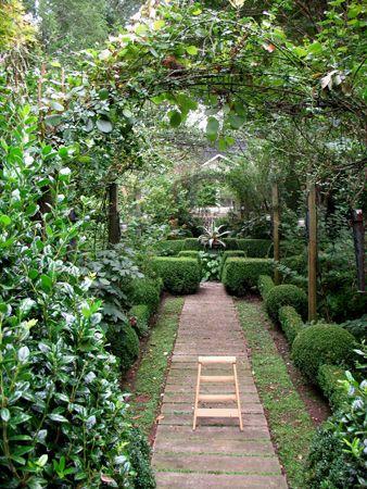 Would Love To Have A Backyard Like This It S Like A Little Fairytale Backyard Beautiful Gardens Backyard Backyard Garden