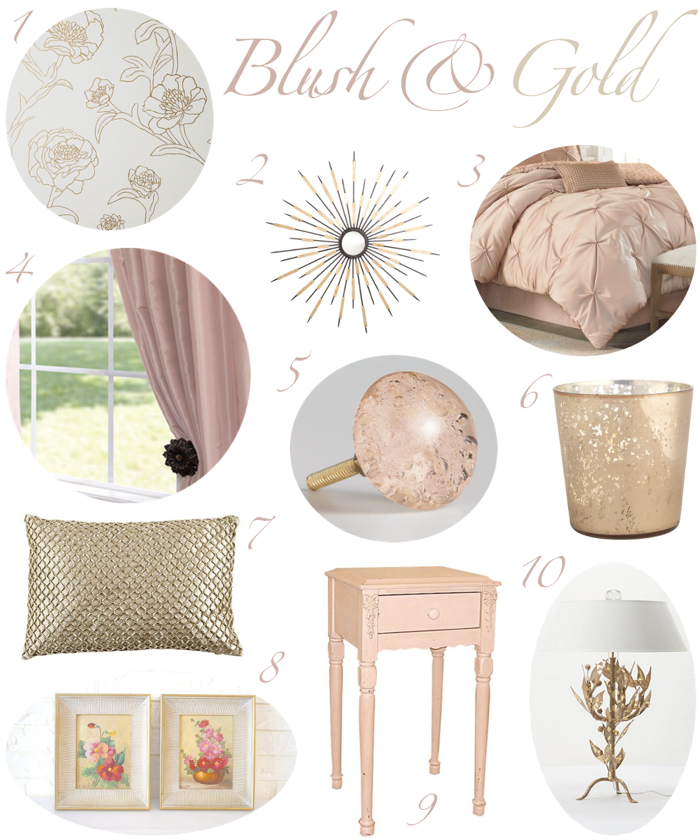 Blush And Gold Bedroom Decor Room Decor Bedroom Rose Gold Gold Bedroom Decor Gold Bedroom