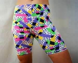 80s spandex shorts