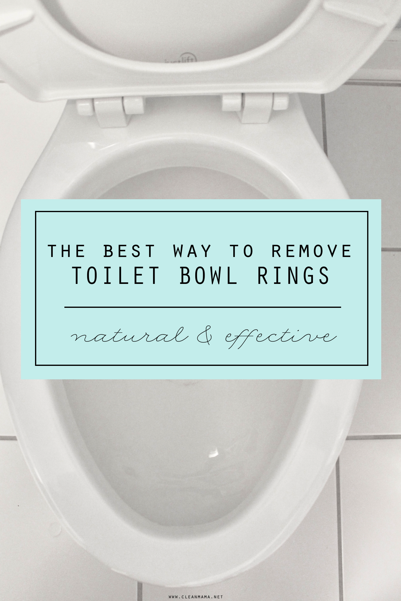 The Best Way to Remove Toilet Bowl Rings | Tips | Cleaning ...