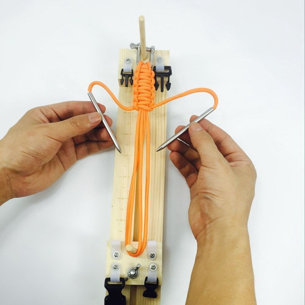 Bracelet Knitting Tool Wristband Maker Braiding Crafting Tool DIY
