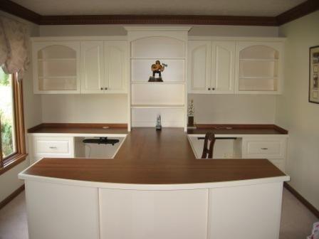 Indianapolis Home Office Cabinets Innovative Office Ideas In