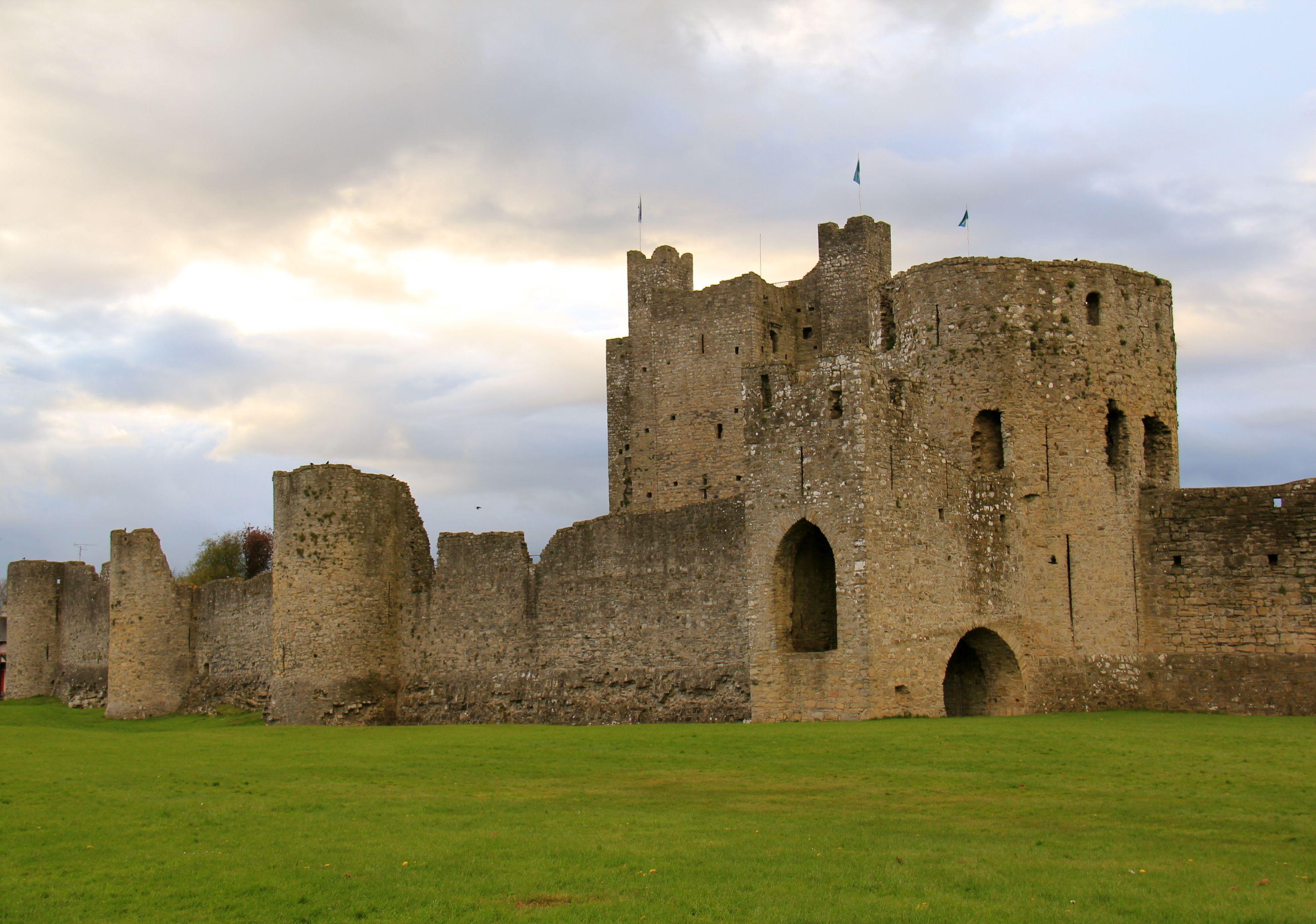 Trim Castle, Trim, Ireland... where they filmed Braveheart