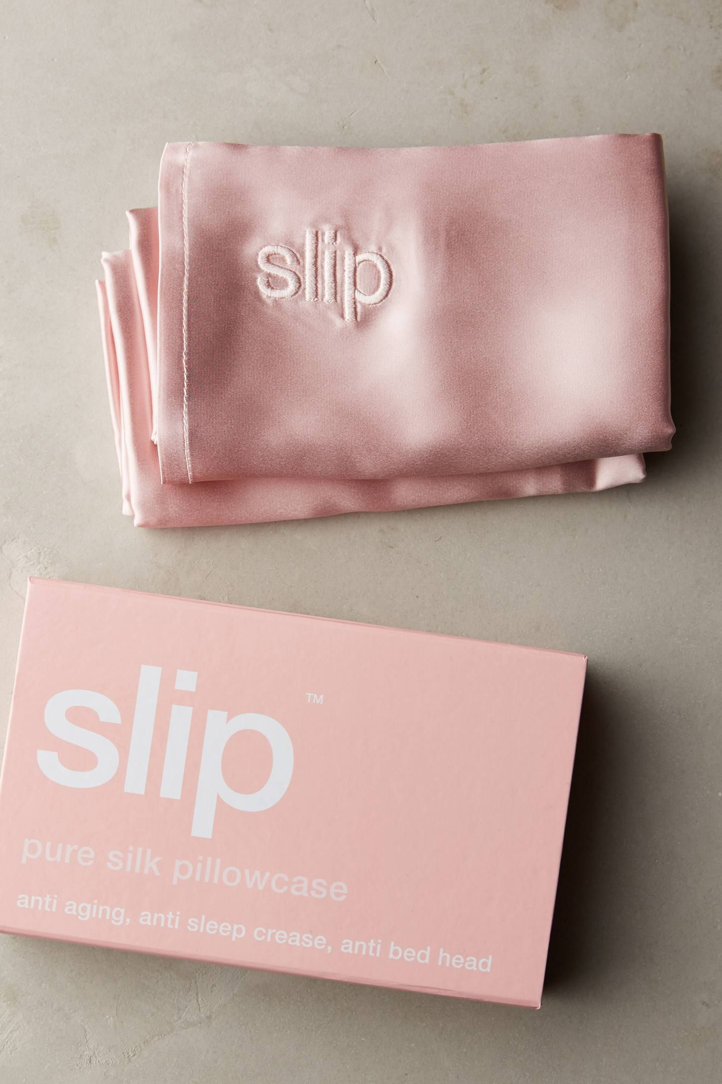 Slip Pillowcase Review Captivating Slip Silk Pillowcase  Pure Silk Silk And Detail Design Decoration