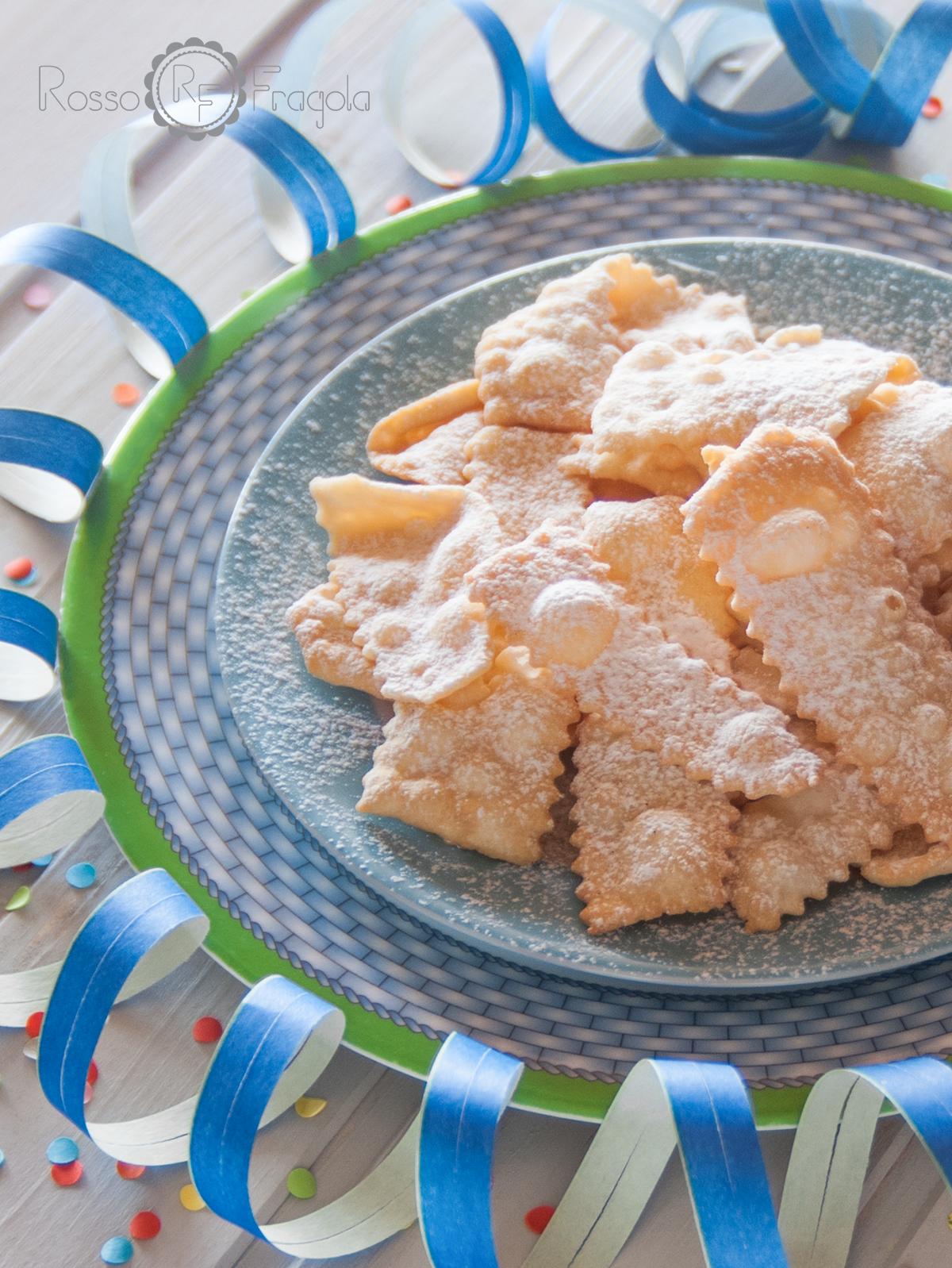 CHIACCHERE - ricetta senza lievito di Iginio Massari