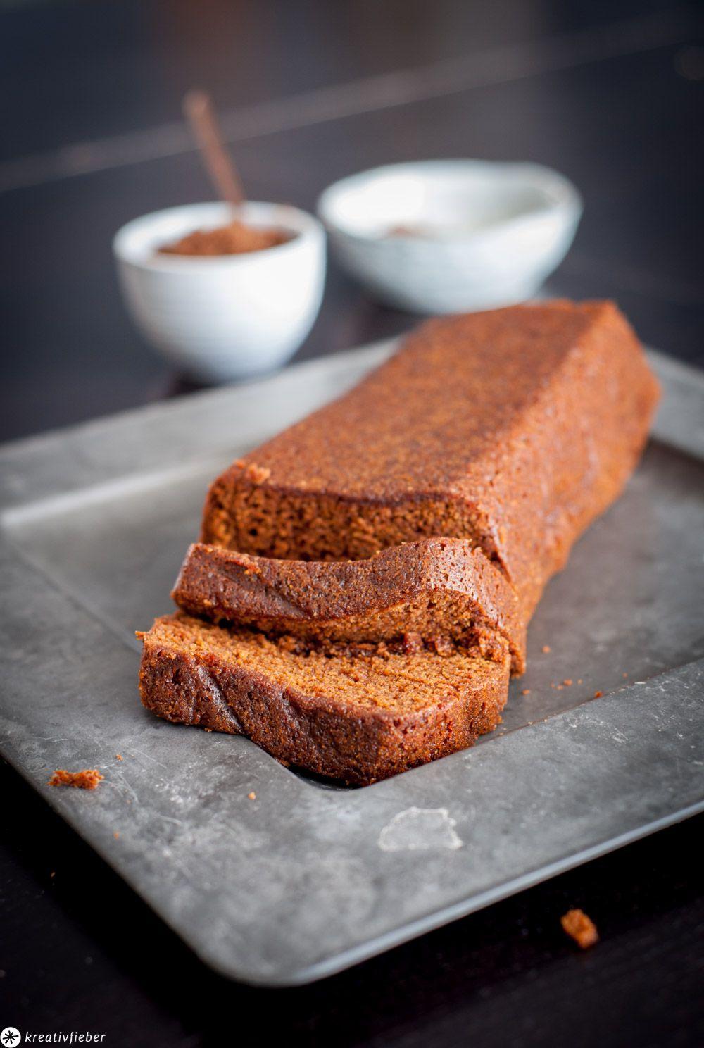 Niederländischer Frühstückskuchen - Ontbijtkoek #frühstückundbrunch