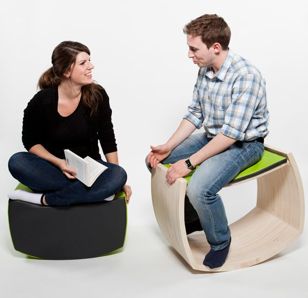 Jopple Fitness Chair Design by Camille Jaigu, Mathilde de Colnet & Marion Veauvy « Furniii