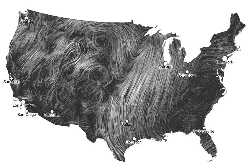 Wind Maps Mlkshk Wind Map Wind Map Design