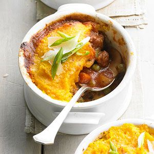 Jan 01 2020 Originating from the UK shepherds pie consists of ground meat usually lamb or beef cooked with vegetables and a tomato sauce or gravy and topped with mashed potatoes.