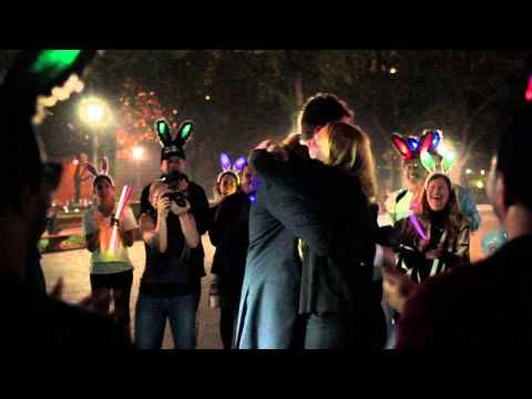 Wedding Proposal 1 Flash Mob Filled With Family And Friends And A