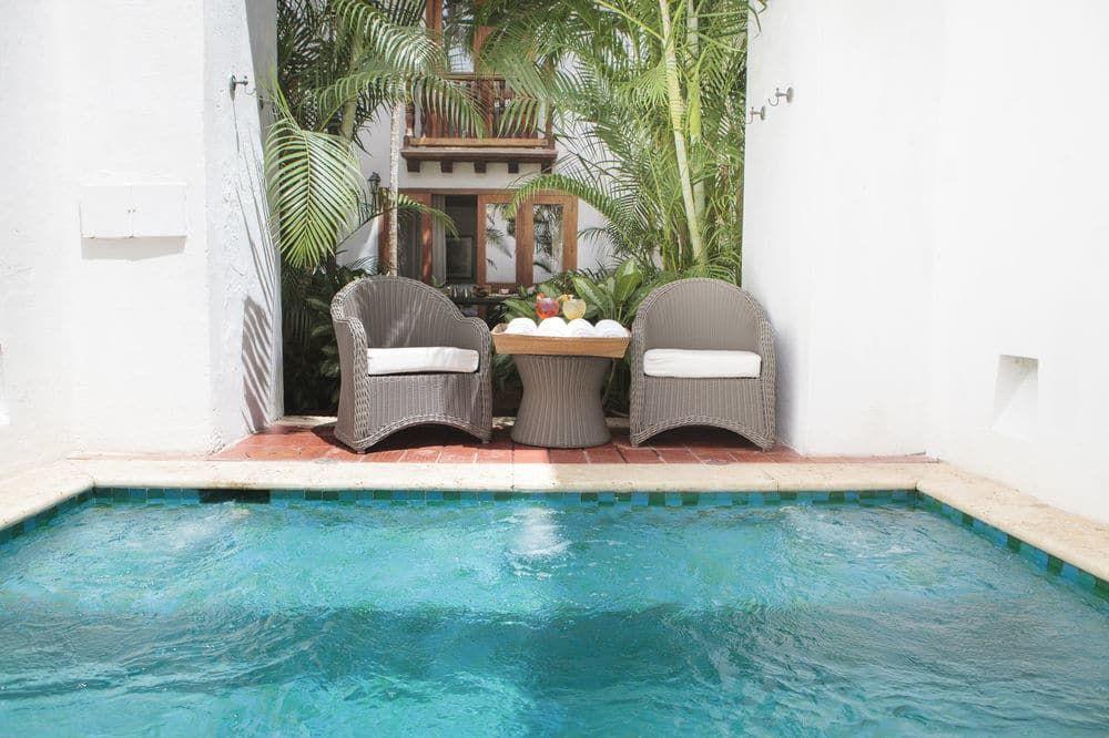 Hotel Casa San Agustin, Cartagena, Premium Room, Jetted Tub, Garden ...