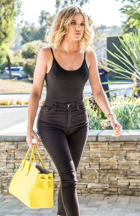 Khloe Kardashian Steps Out Amid Lamar Odom Drama in Bespoke Jeans