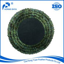 Pheasant Feather Placemats, Pheasant Feather Placemats direct from Cixi Hong Yuan Feather Products Co., Ltd. in China (Mainland)