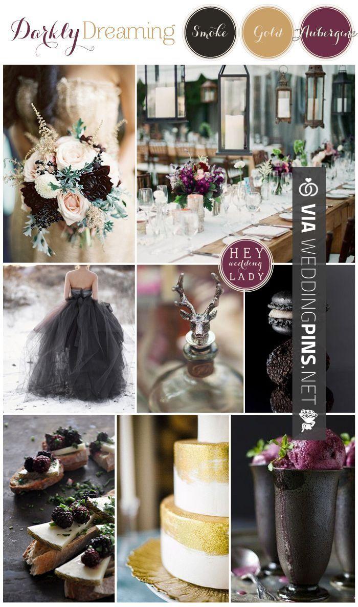 So Good Wedding Colour Schemes 2017 Darkly Dreaming A Moody
