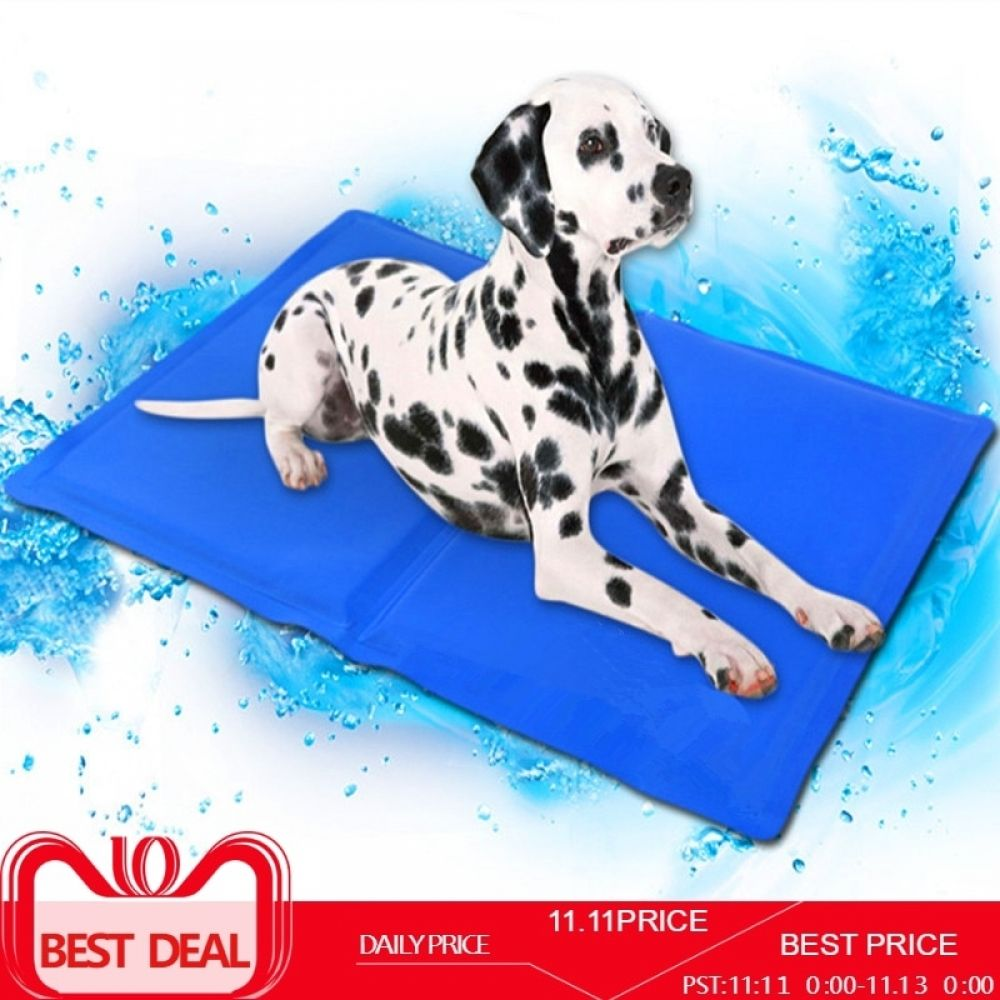 Dog Cooling Mat Pet Ice Pad Teddy Mattress Pet Cool Mat Bed Cat