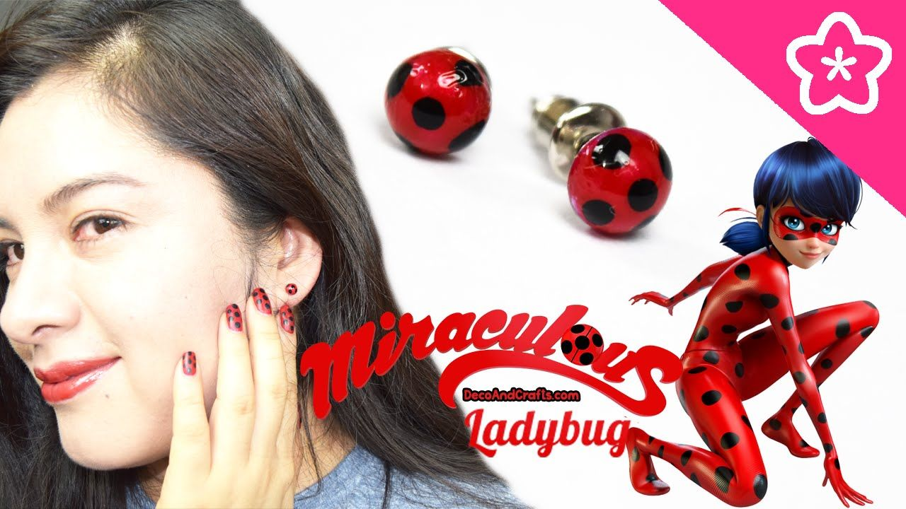 Como Hacer La Libreta De Dibujo De Marinette Prodigiosa: Miraculous LadyBug Aretes Catarina De Fantasia