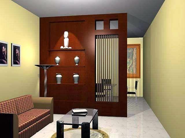 Partisi Ruang Tamu Dan Ruang Makan Terbaru | Pembatas Ruangan, Ruangan, Interior