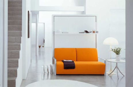 ito pull down bed with sofa website features lots of different murphy bed - Designer Wall Beds