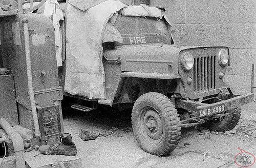 Willys CJ-3B Fire Jeep