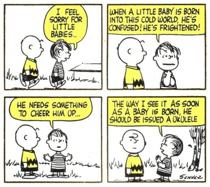 Uke Comic: Charlie Brown | Ukulele, Ukulele songs, Cool ...