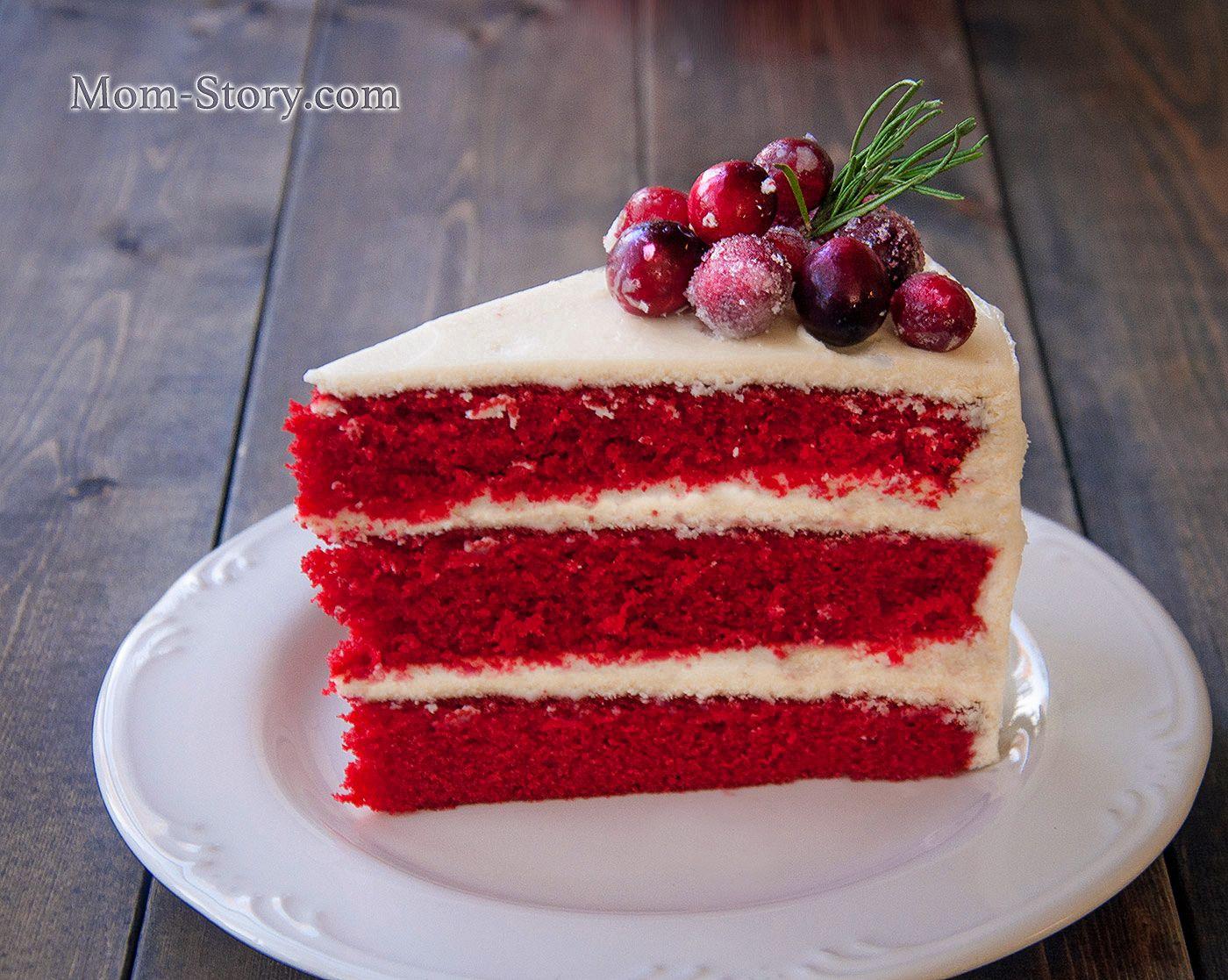 Торт Красный бархат Red Velvet cake | Рецепт | Рецепты ...