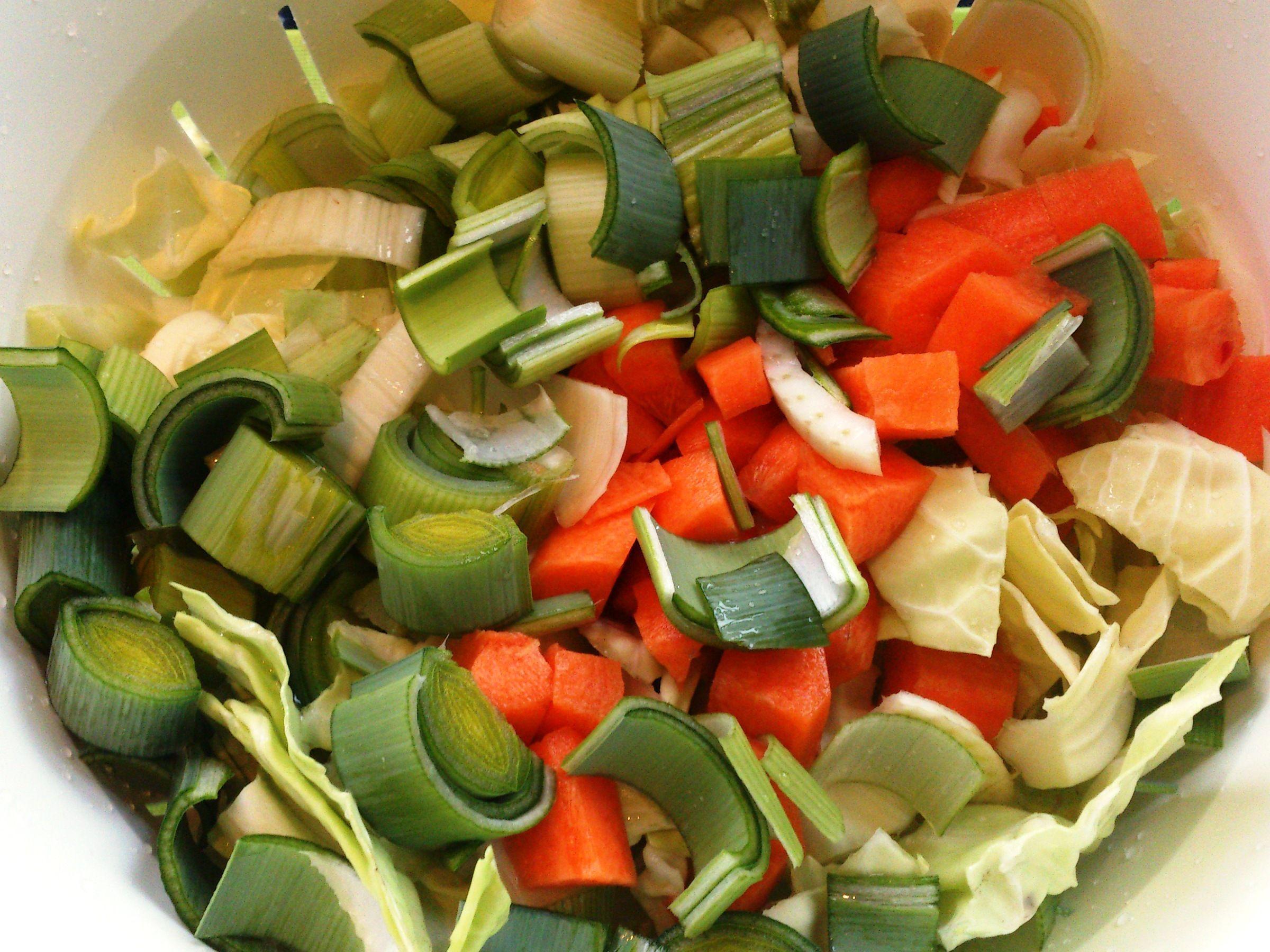 Grøntsagsfond hjemmelavet Grøntsagsfond hjemmelavet Grøntsagsfond bruges til at forstærke smagen i saucer og gryderetter Du kan fryse fonden ne...