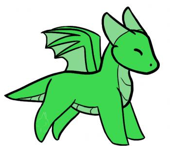 How To Draw A Simple Dragon by DuskShadowWolf | Easy ...