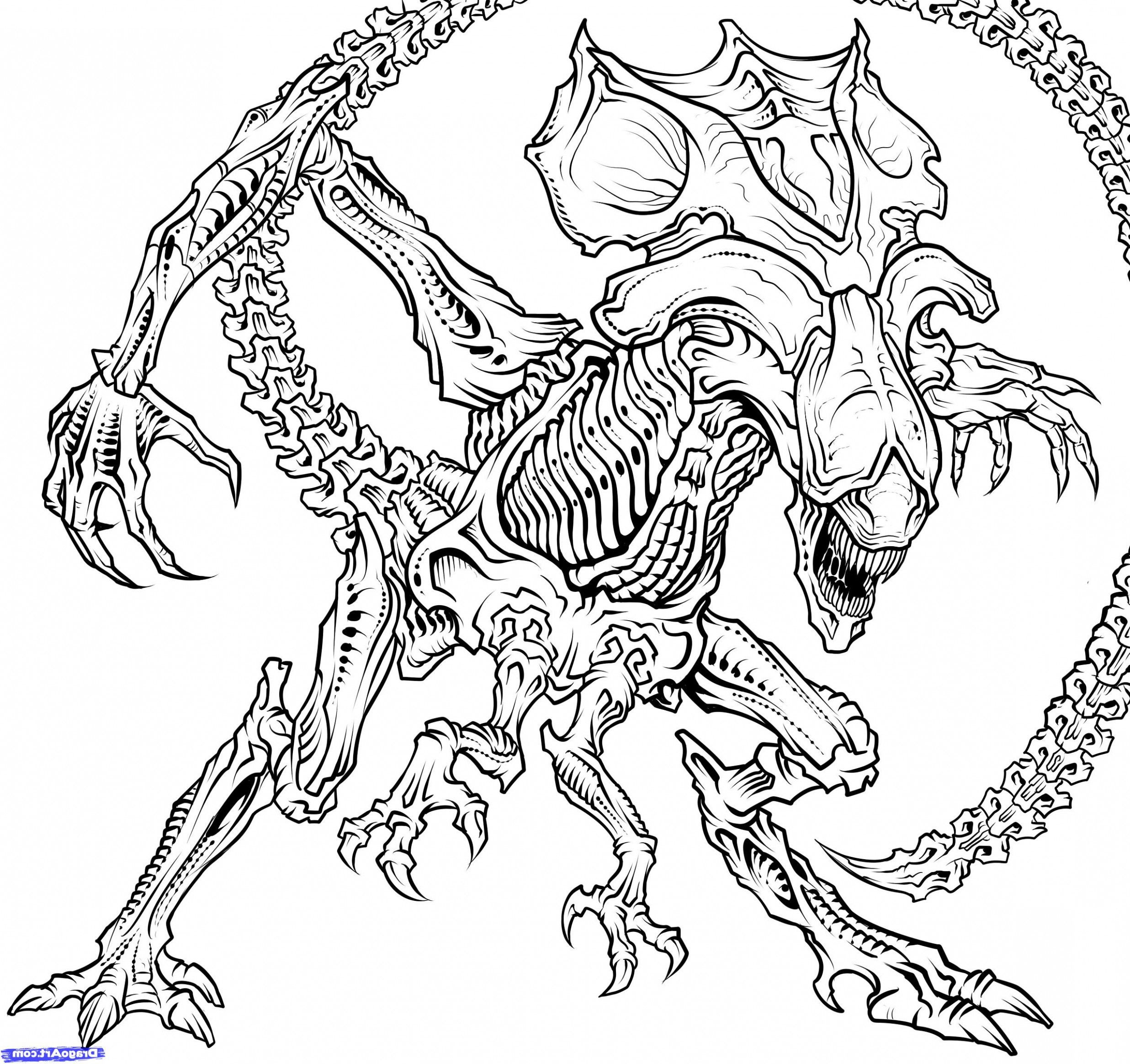 Do You Know How Many People Show Up At Xenomorph Coloring ...