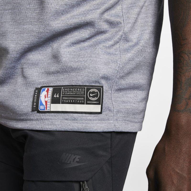 Joel Embiid City Edition Swingman (Philadelphia 76ers) Men s Nike NBA  Connected Jersey - Grey 556d9edf9