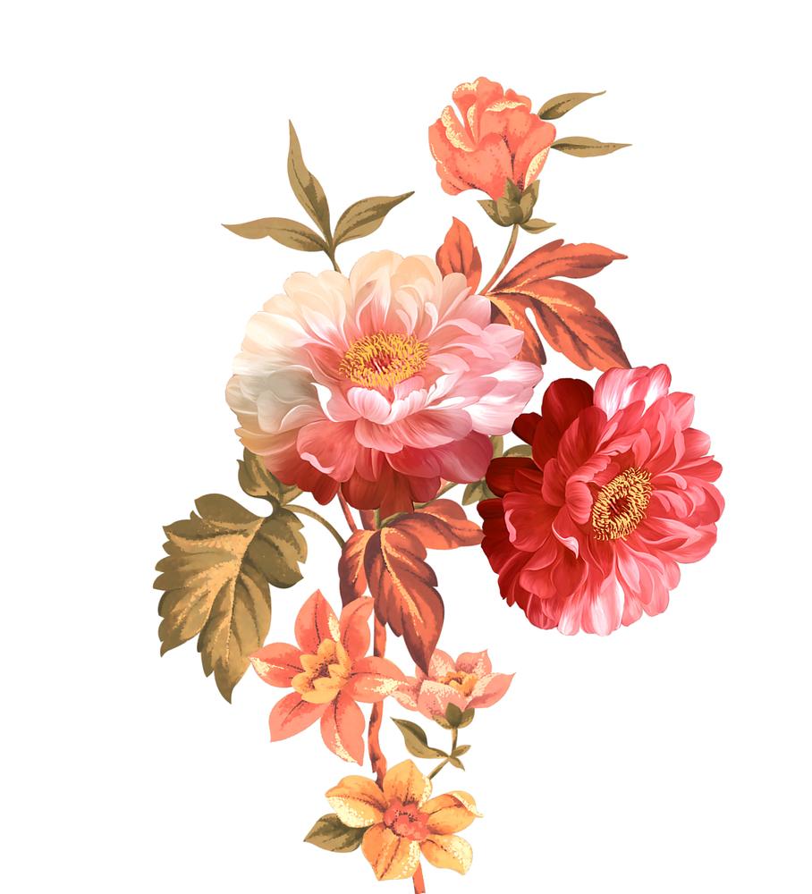 Pin By Maddiewu On Flawar Digital Flowers Flower Painting Flower Art