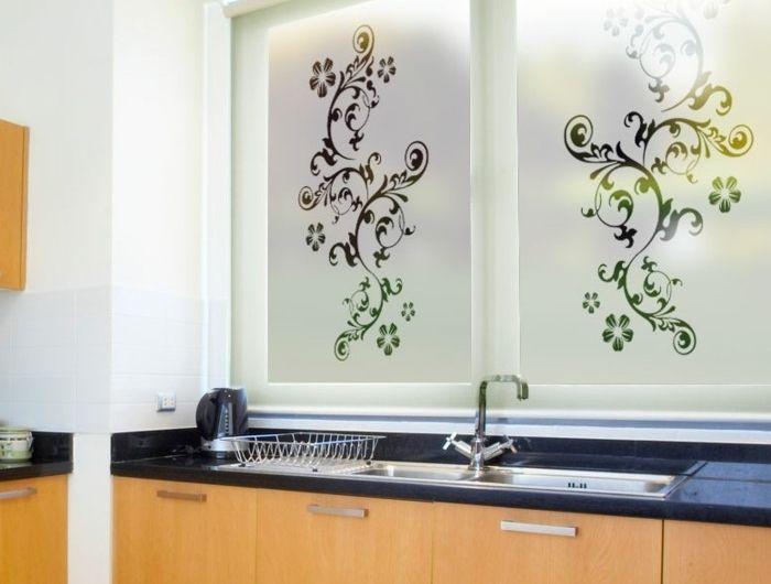 stickers pour vitres pour d corer et pour pr server votre intimit pinterest. Black Bedroom Furniture Sets. Home Design Ideas