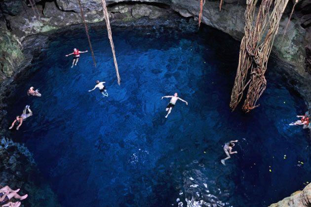 Resultado de imagen para Cenotes de Cuzamá