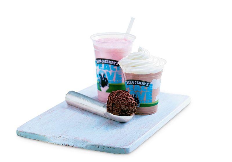 Ben's. Pirtelö kahdesta valitsemastasi jäätelömausta ja maidosta.ALE 5 €(Norm. hinta 5,90 €).