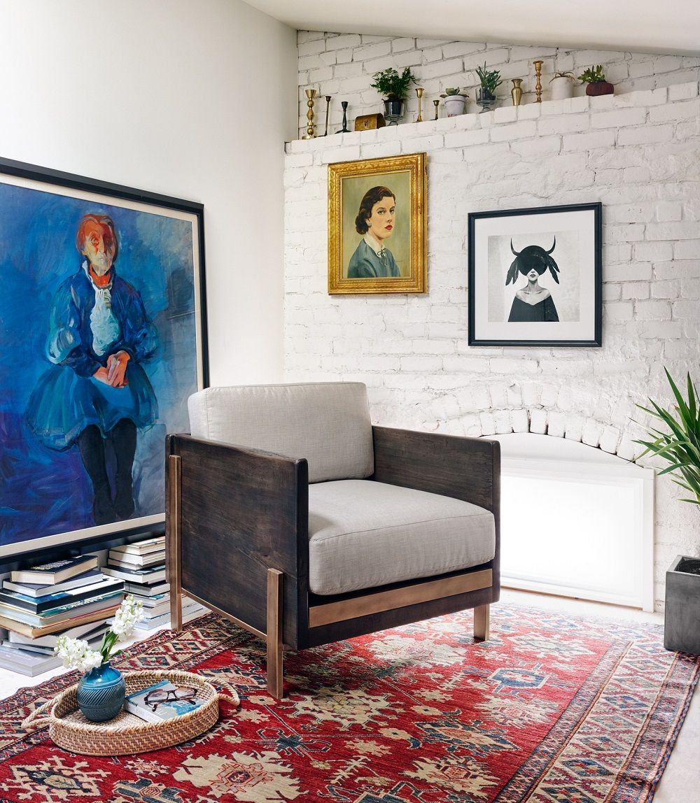 Live edge wood living room armchair interiorshome pinterest