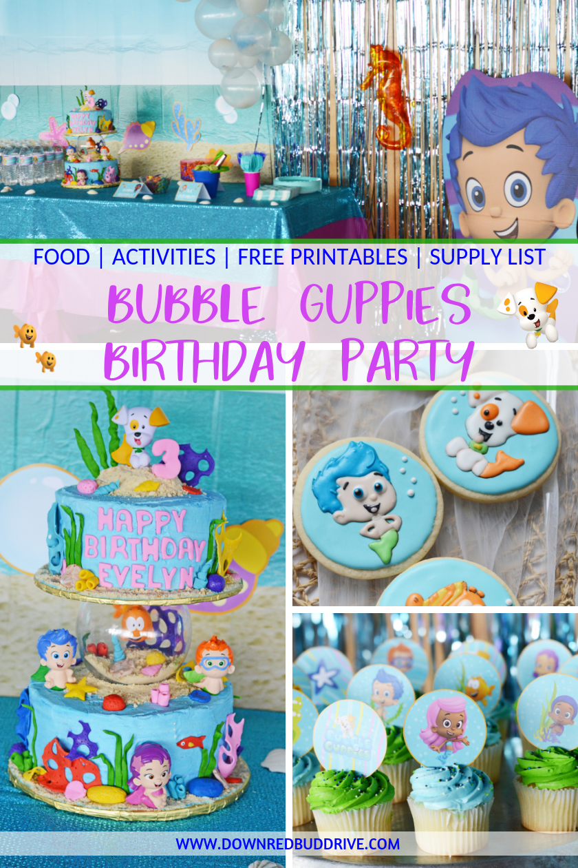 Bubble Guppies Birthday Bubble Guppies Party Theme Bubble Guppies Birthday Party Idea Bubble Guppies Birthday Party Bubble Birthday Bubble Birthday Parties