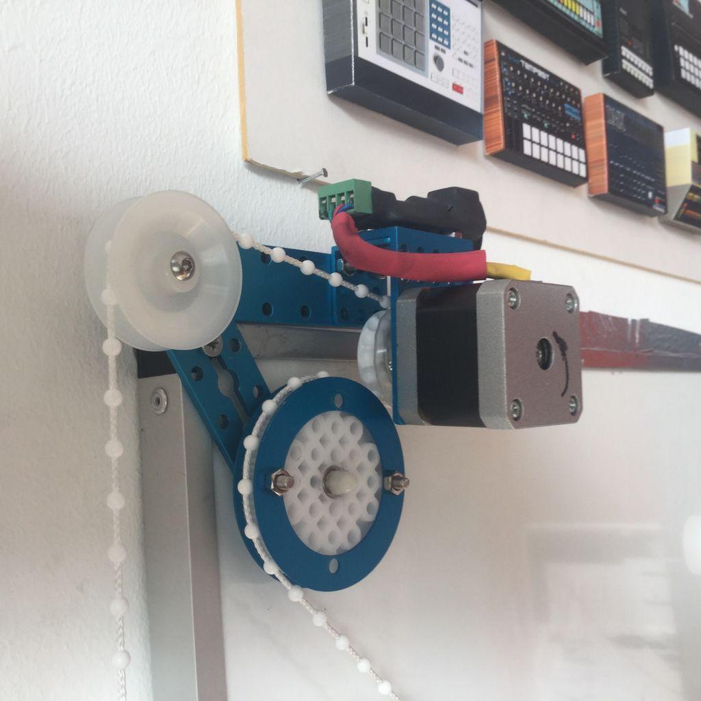 Arduino Polar V Plotter Pomysly