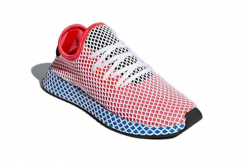 blue mesh sneakers footwear